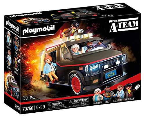 PLAYMOBIL 70750 The A-Team Van - im ikonischen Design, Für A-Team...