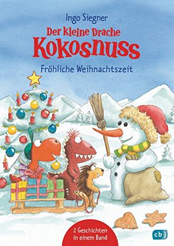 Der kleine Drache Kokosnuss - Fröhliche Weihnachtszeit: Doppelband:...