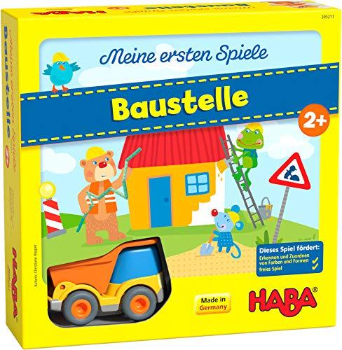 HABA 305211 - Meine ersten Spiele – Baustelle, kooperatives...