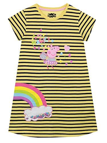 Peppa Wutz Mädchen Kleid Mehrfarbig 104