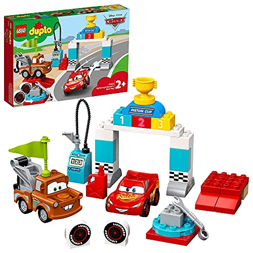 LEGO 10924 DUPLO Cars Lightning McQueens großes Rennen, Disney Pixar...
