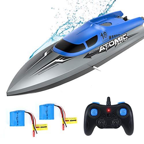 EACHINE RC Boot Racing EB02 Ferngesteuertes Boot Hochgeschwindigkeits 25KM/H Kleine Rennboot Schnellboot 2.4G...