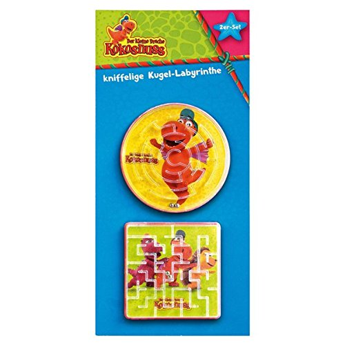 Der kleine Drache Kokosnuss - Kugel-Labyrinthe: 2er Set