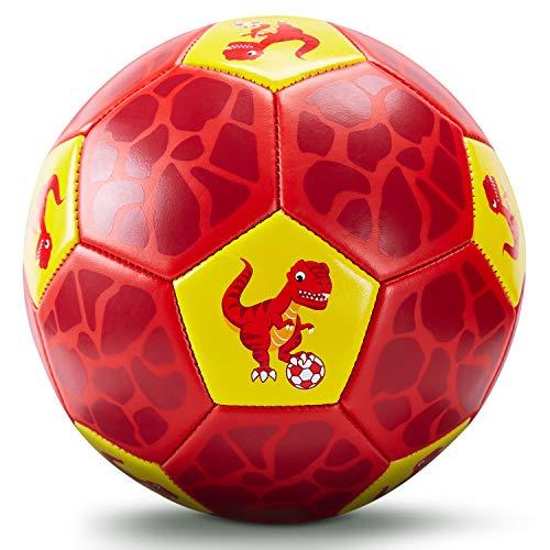 Fußball Spielzeug Mit Ballpumpe und Netz, Kinder Fußball Ball für...