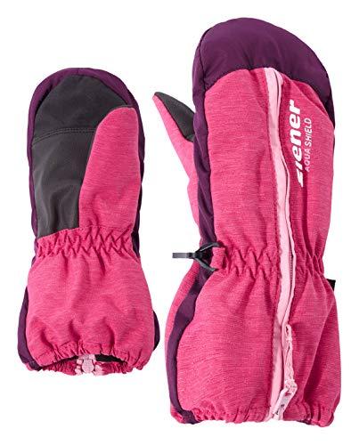 Ziener Baby LANGELO AS MINIS glove Ski-handschuhe / Wintersport | wasserdicht, atmungsaktiv, pink blossom rib...