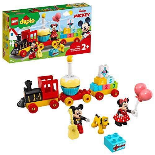 LEGO 10941 DUPLO Disney Mickys und Minnies Geburtstagszug, Spielzeug...