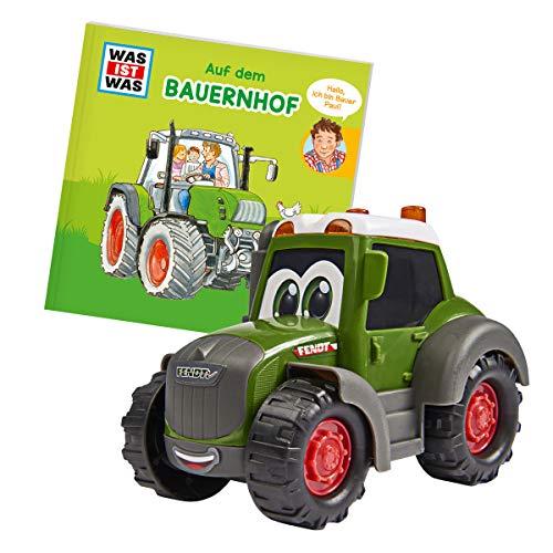 Dickie Toys 203812008 Was ist Was-Bauernhof, Fendt Traktor mit...