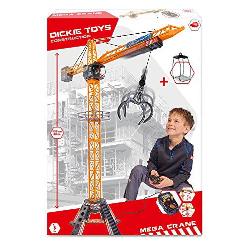 Dickie Toys Mega Crane, elektrischer Kran mit Fernbedienung, für... *