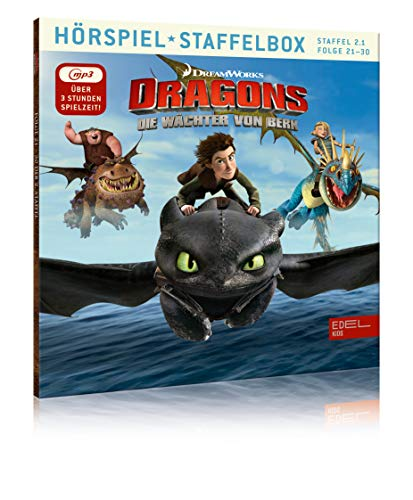 Dragons - Die Wächter von Berk - mp3-Staffelbox 2.1...