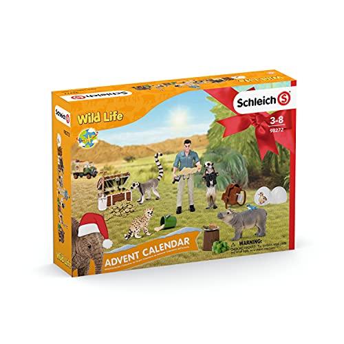 SCHLEICH 98272 Spielset - Adventskalender Wild Life 2021 (Wild Life),...