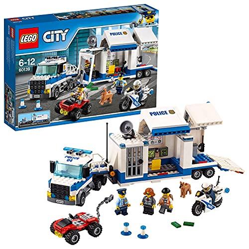 LEGO 60139 City Polizei Mobile Einsatzzentrale, Bauset, LKW-Spielzeug...