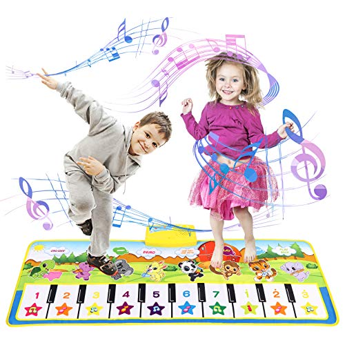 Kinder Klaviermatte Kleinkind Kinderspielzeug Mädchen Jungen, Touch...
