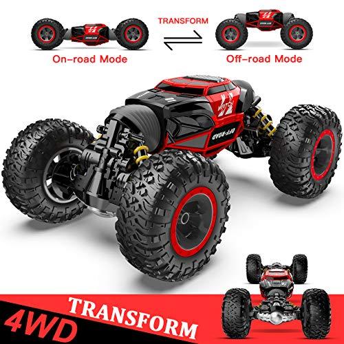 1:14 Ferngesteuertes Auto, 4WD RC-Auto für Kinder Verwandeln Schnelle...