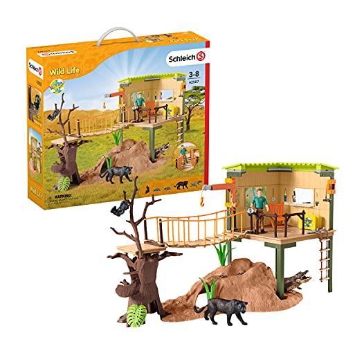 SCHLEICH 42507 Spielset - Wild Life Abenteuerstation...
