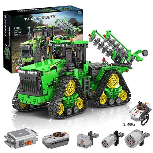 xSuper Technik Traktor Ferngesteuert mit Allrad-Crawler...