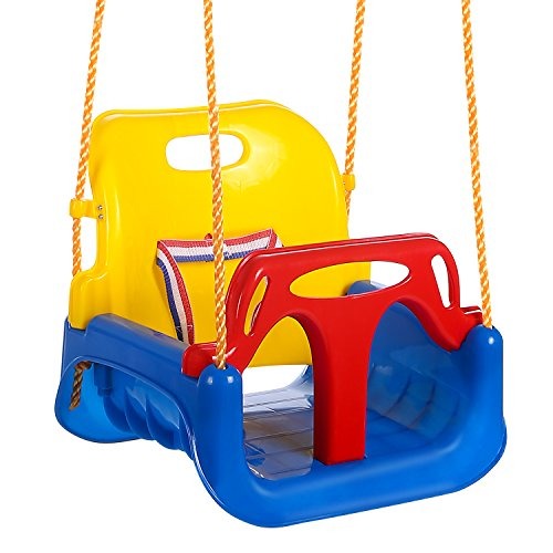 ANCHEER 3-in-1 Babyschaukel Kinderschaukel für Baby...