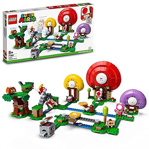 LEGO71368SuperMarioToadsSchatzsuche–Erweiterungsset,...