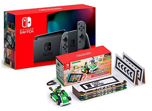 Nintendo Switch V2 32Gb Grau [neues model] + Mario Kart Live: Home...