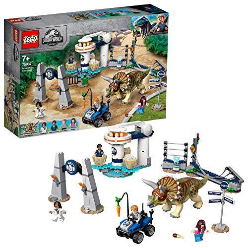 LEGO75937 - JurassicWorld Triceratops-Randale, Bauset