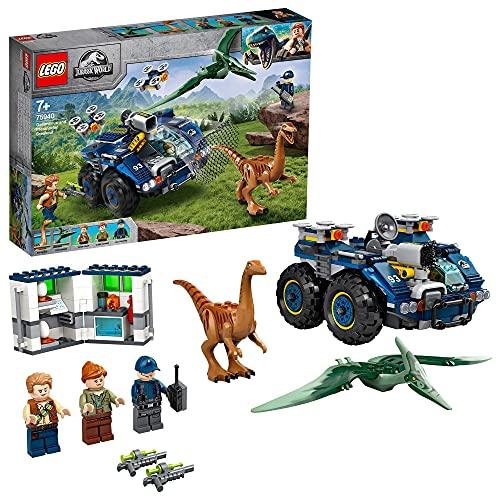 LEGO 75940 Jurassic World Ausbruch von Gallimimus und Pteranodon,...