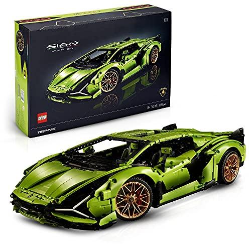 LEGO 42115 Technic Lamborghini Sián FKP 37 Rennwagen, Bauset für...