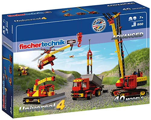 Fischertechnik 548885 Bauset Universal 4 - der perfekte Baukasten für...