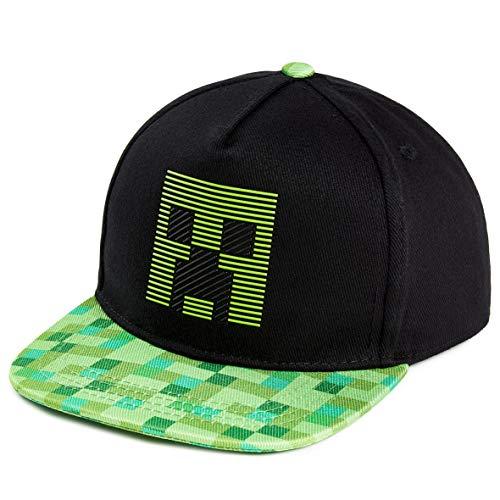 Minecraft Sonnenhut Kinder, Schwarz Trucker Cap Kinder mit Creeper...