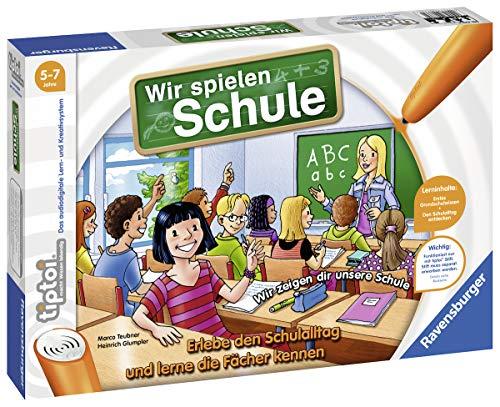 Ravensburger tiptoi Spiel 00733 Wir spielen Schule, Spiel von...