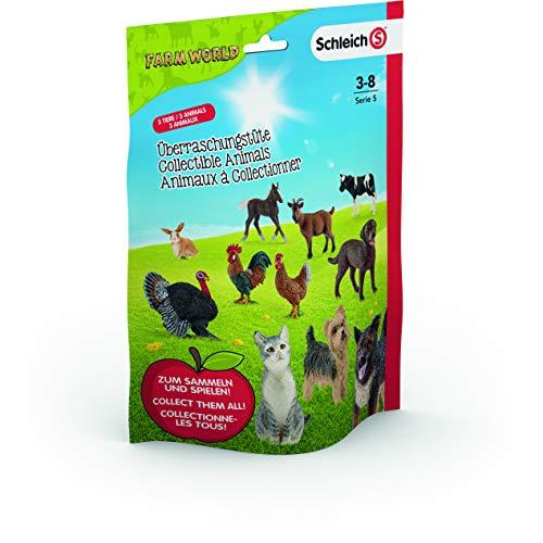 SCHLEICH – 87859 Farm World Überraschungstüte – 3er Pack