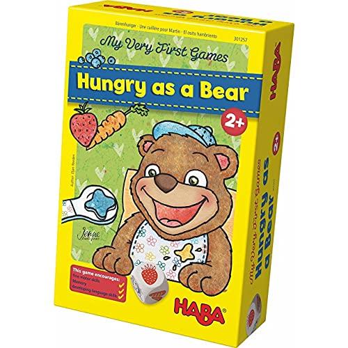 HABA 300171- Meine ersten Spiele – Bärenhunger | Lustige...