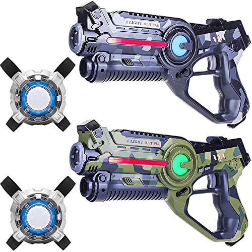 Light Battle Active Lasertag Set - 2X laserpistole...
