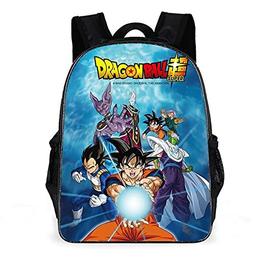 EdiNoeL Dragon Ball Z Rucksack, Multifunktions-Reise-Laptop-Rucksack,...