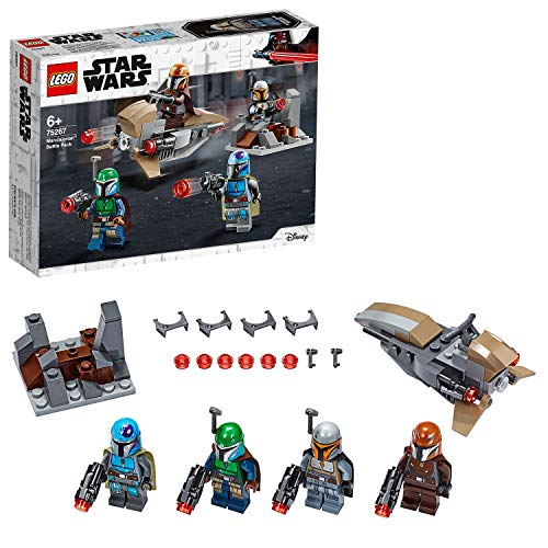 LEGO Star Wars 75267 Mandalorianer Battle Pack mit 4 Minifiguren