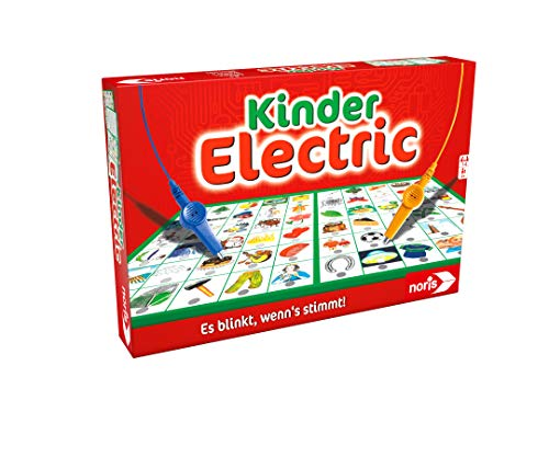 Noris 606013702 Kinder Electric Der Lernspiel-Klassiker, was passt...