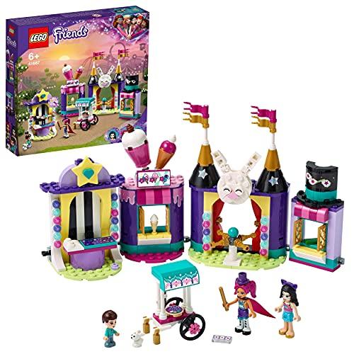 LEGO 41687 Friends Magische Jahrmarktbuden, Freizeitpark mit...