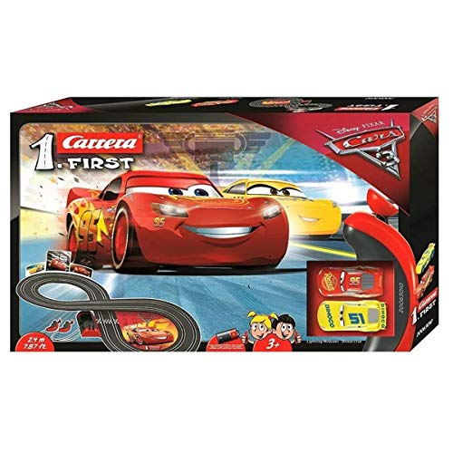 Carrera 63010 FIRST Disney Pixar Cars 3 Rennstrecke für Kleinkinder,...