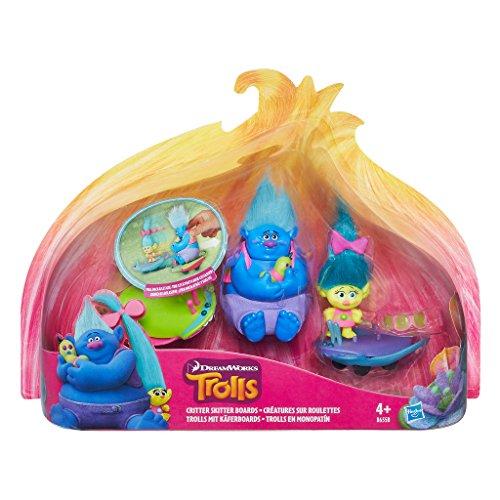 Hasbro Trollstadt Trolls mit Käferboards, Figur