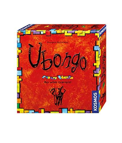 Kosmos 692339 - Ubongo, Das wilde Legespiel, Brettspiel-Klassiker für...