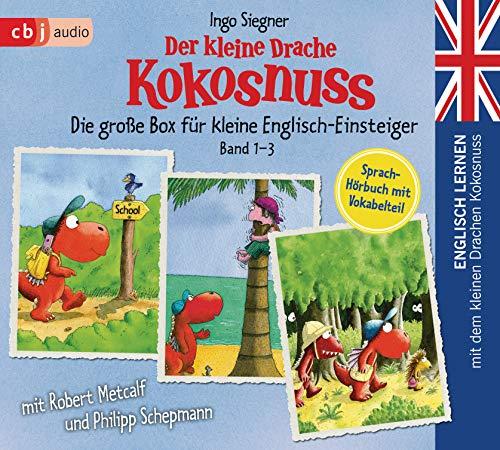 Englisch lernen mit dem kleinen Drachen Kokosnuss - Die große Box für kleine Englisch-Einsteiger (Band 1-3):...