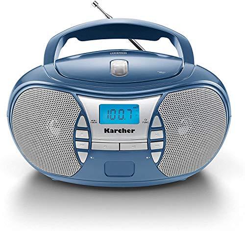 Karcher RR 5025-C tragbares CD Radio (CD-Player, Boomboxen, UKW Radio,...