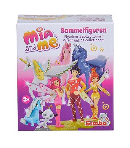 Simba 109480100 and Mia und Me Sammelfiguren, 24-sort, girls, rosa