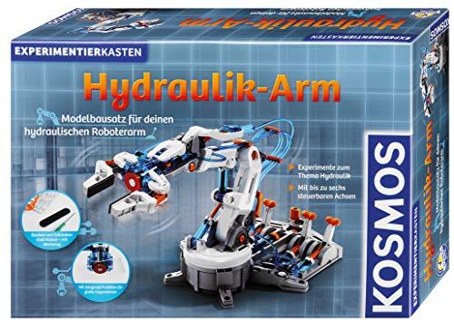 Kosmos 620479 Hydraulik-Arm, Modellbausatz für deinen hydraulischen Roboterarm, Experimentierkasten zu...