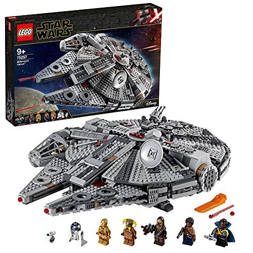 Lego 75257 Star Wars Millennium Falcon Raumschiff Bauset mit Finn,...