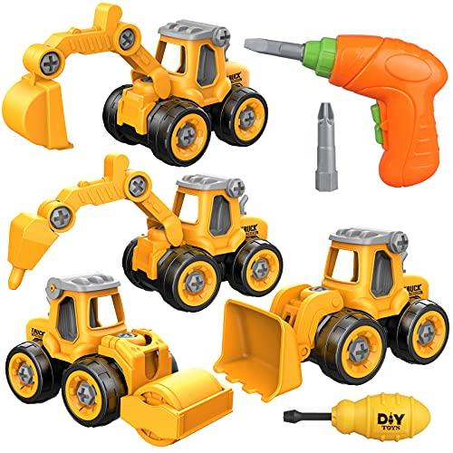 Yojoloin Bagger Spielzeug Sandspielzeug Sandkasten Spielzeug für...