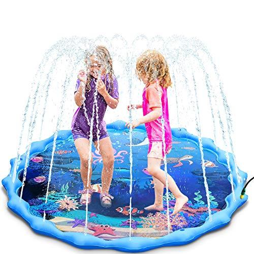 Magicfun Splash Pad, 172cm Wasserspielzeug Spielmatte für Kinder ,...