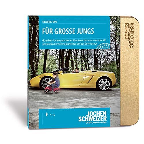 Jochen Schweizer Erlebnis-Box 'Für Große Jungs', mehr als 590...