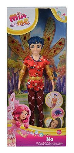 Simba 109480091 – Mia and Me neue Puppe Mo mit Glasaugen