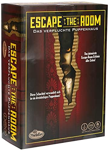 ThinkFun - 76371 - Escape the Room, Das verfluchte Puppenhaus -...