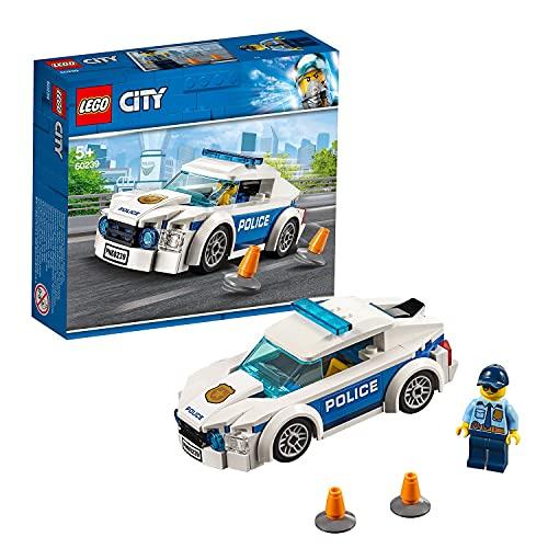 LEGO 60239 City Polizei Streifenwagen, Spielzeugauto mit...
