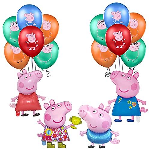 Peppa Pig Geburtstag Partei Dekoration Peppa Pig Luftballons George...